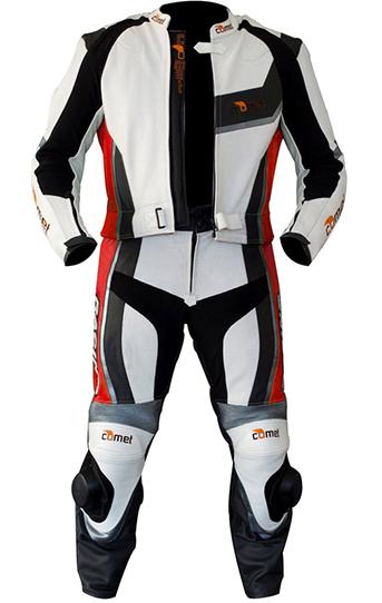 Custom 2 Piece Leather Motorcycle Suit Sportbike Suit Custom
